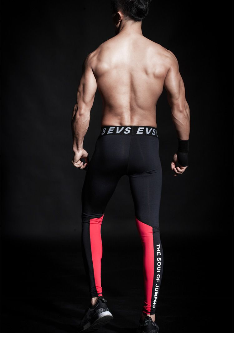 LEGGING ESPORTIVA BLACK & RED