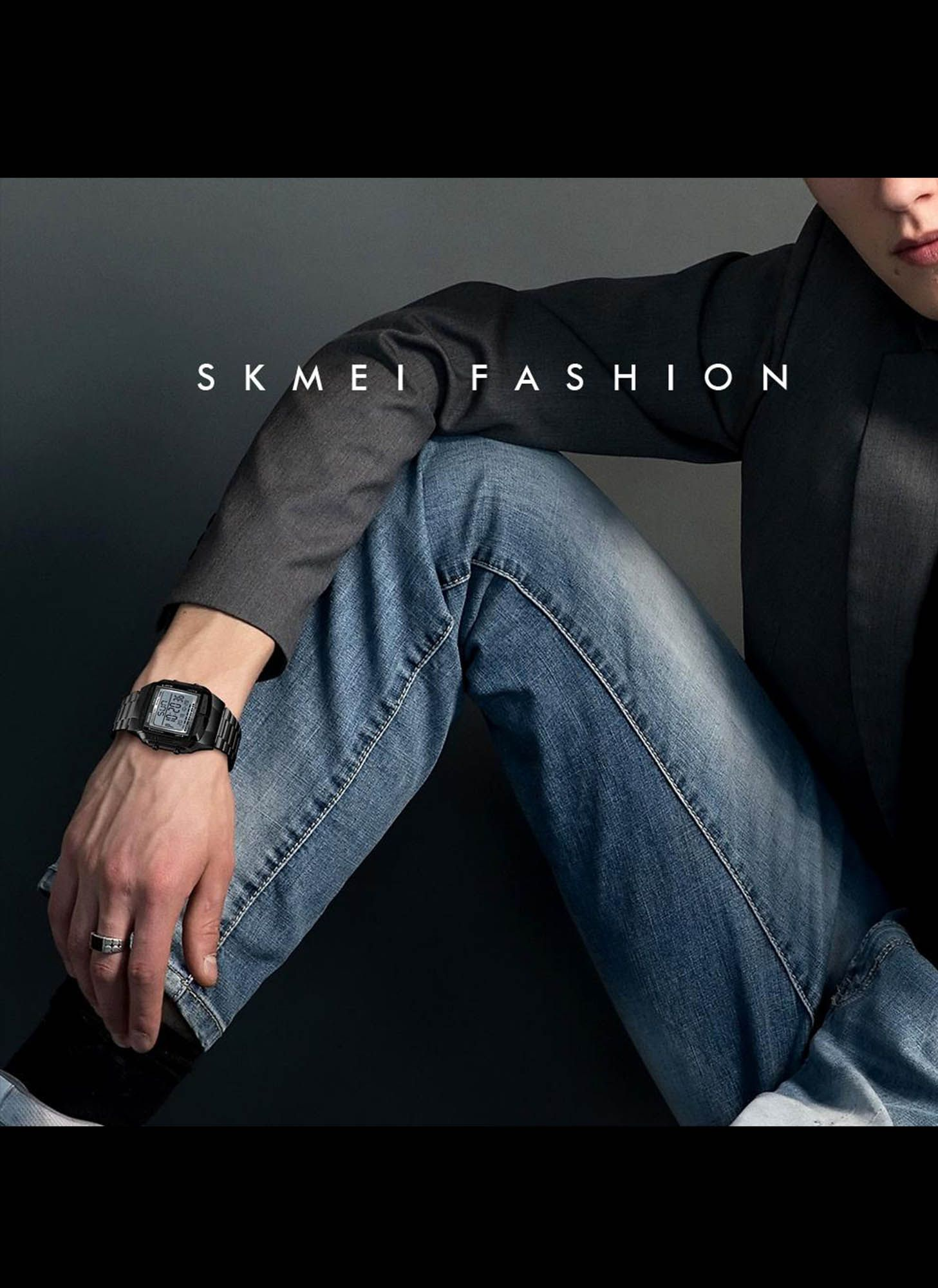SKMEI SPORTS INOX BLACK