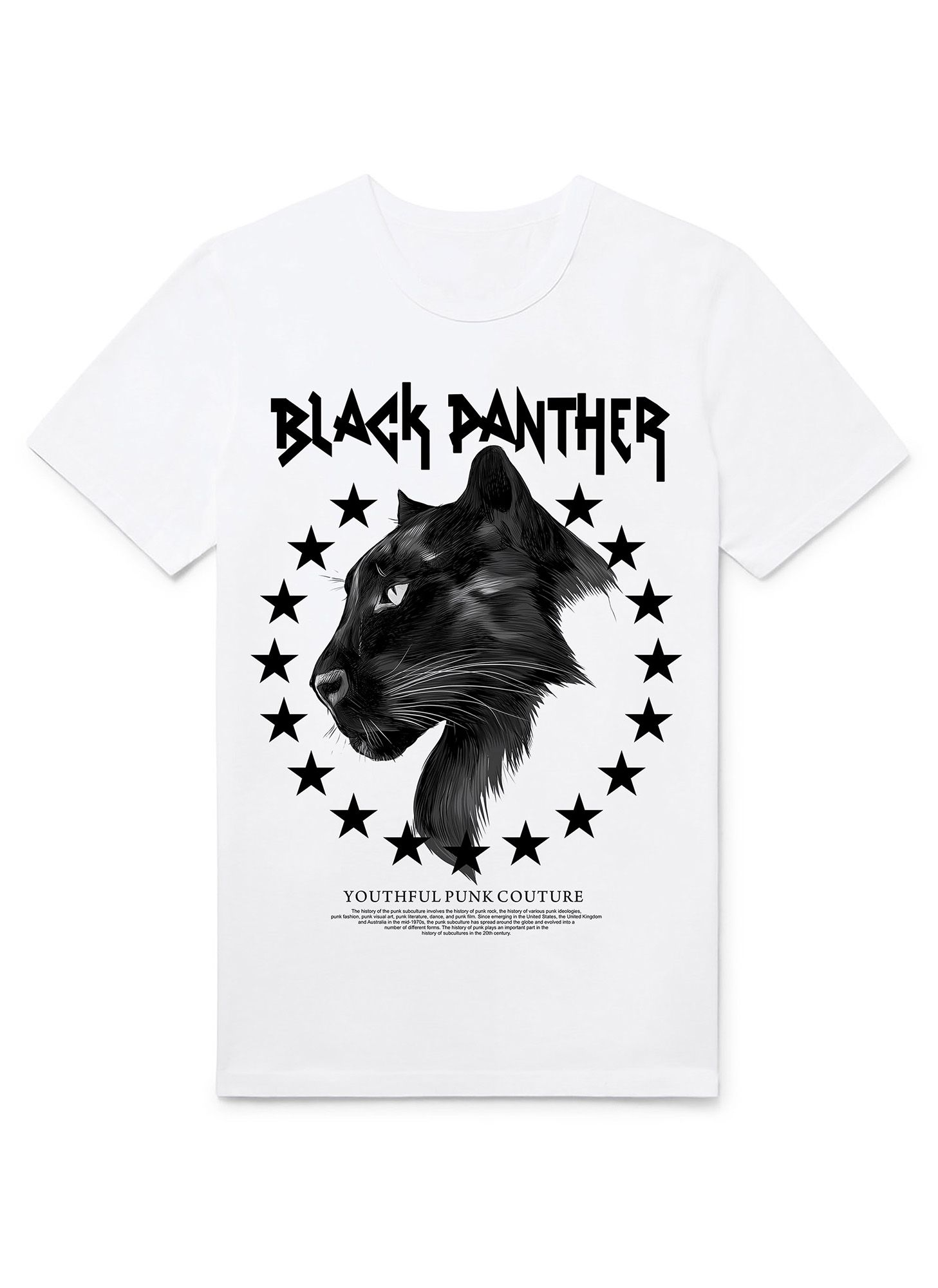 T-SHIRT BLACK PANTHER