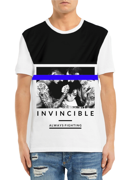 T-SHIRT INVINCIBLE MAN