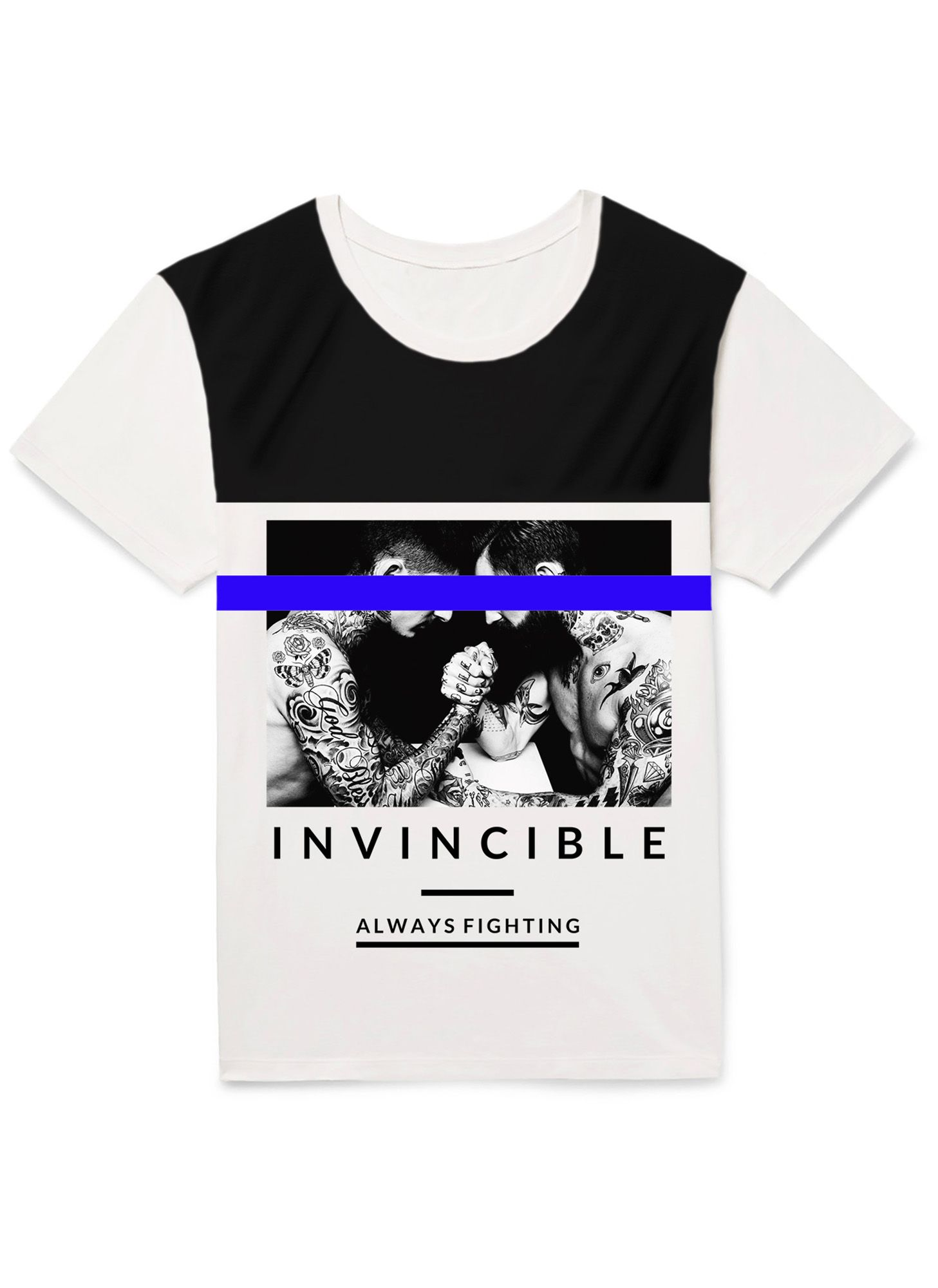 CAMISETA INVINCIBLE MAN