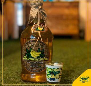 Bananazinha 900ml + Copo de dose