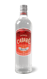 Cachaça Cabaré Prata - 700ml