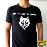 """Camiseta """"Meu uai é foda"""""""