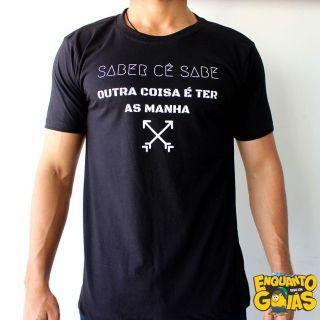 """Camiseta """"Saber cê sabe"""""""