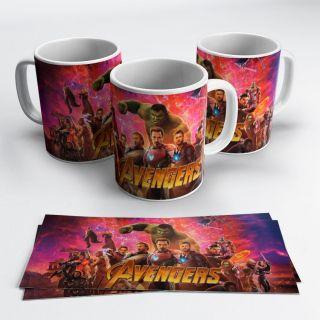 Caneca Avengers mod3
