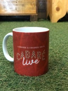 Caneca Cabaré Live exclusiva 325ml