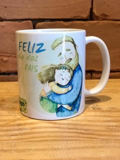 """Caneca dia dos pais 2020 - """"Feliz dia dos Pais Frase"""" - 320ml"""
