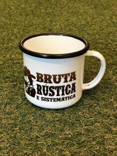 Caneca Esmaltada Bruta 235ml