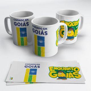 Caneca Somos Todos Goiás - Coisado em Goiás