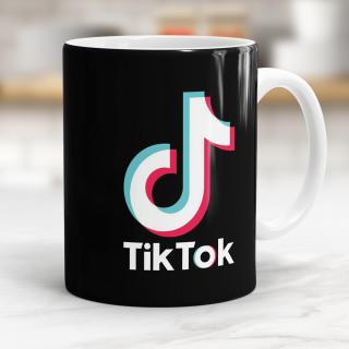 """Caneca """"TikTok"""" - Porcelana 325ml"""