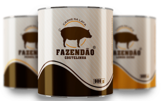 Carne da Lata Fazendão 900g
