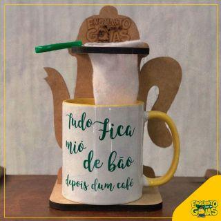 Coador de Café + Caneca 325ml