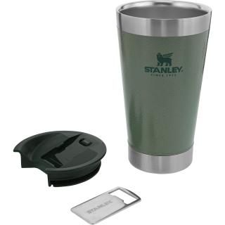 Copo Térmico Stanley Original c/ tampa 473ml - Cor Verde