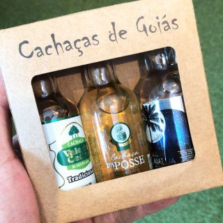 KIt Cachaças de Goiás 3x1