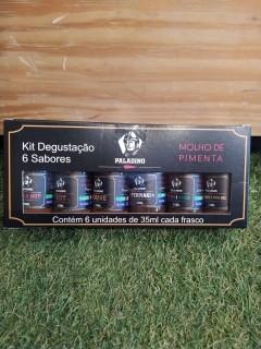 Kit Pimenta Paladino Degustação 6 und. 35ml