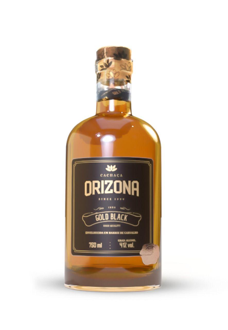Cachaça Orizona Gold Black 750ml