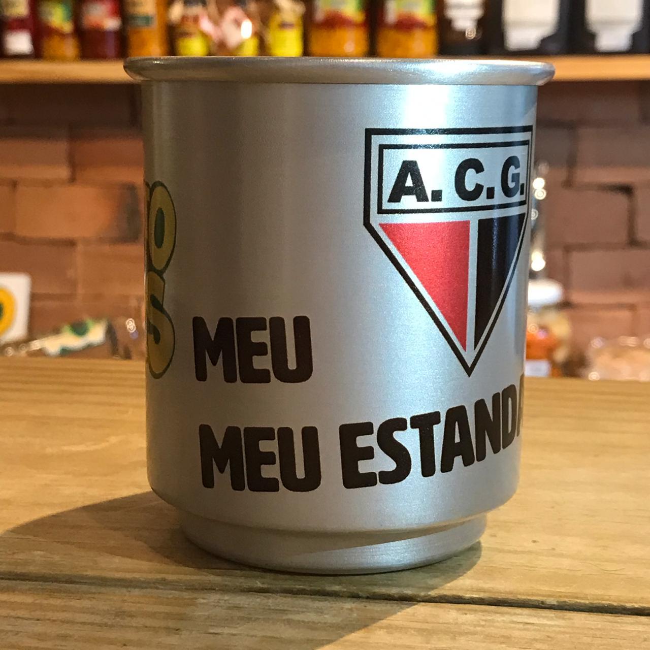 Caneca de alumínio Atlético
