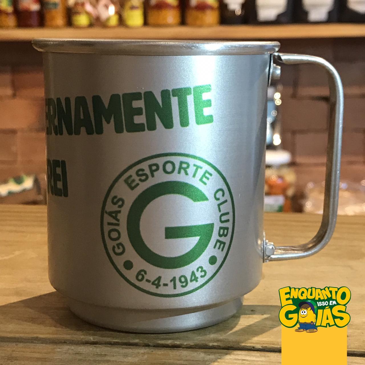 Caneca de alumínio Goias Esporte Clube