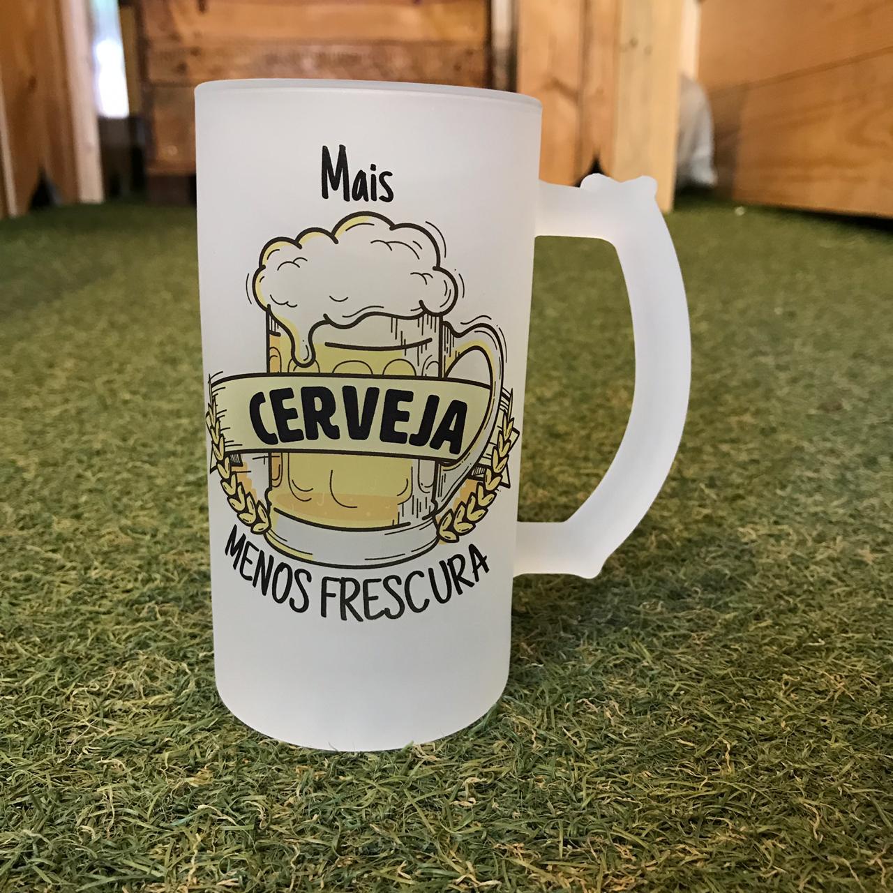 Caneca de Chopp Mais Cerveja - 475ml