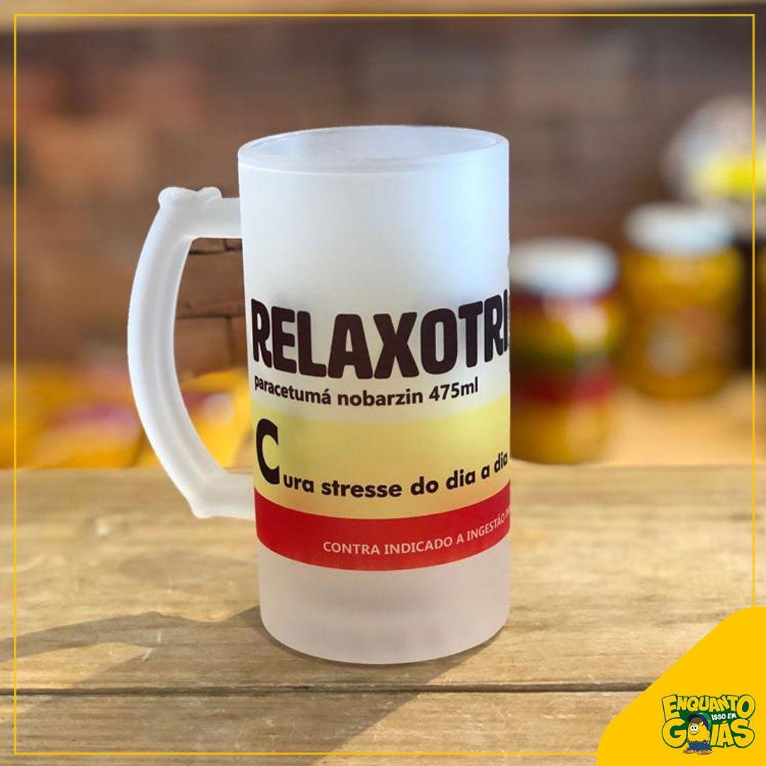 Caneca de Chopp Relaxotril - 475ml