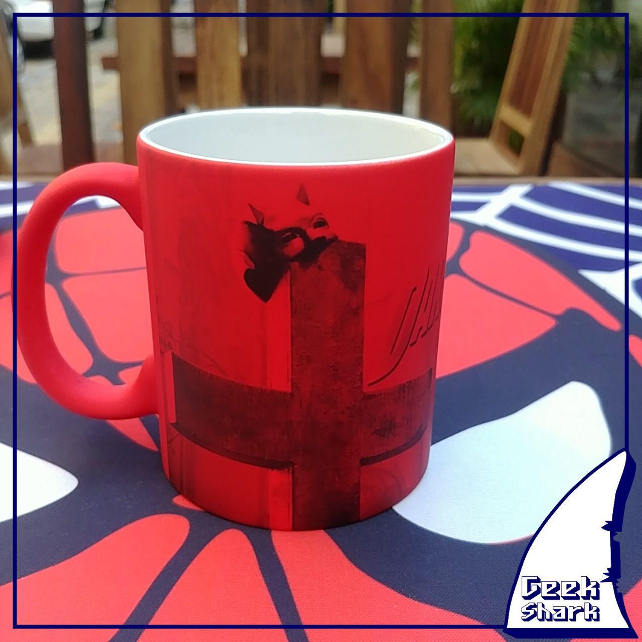Caneca Demolidor Magica Vermelha Fosca - 01