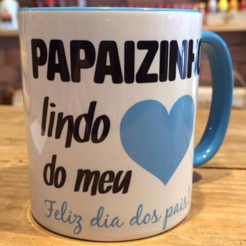 """Caneca dia dos pais - """"Papaizinho"""""""
