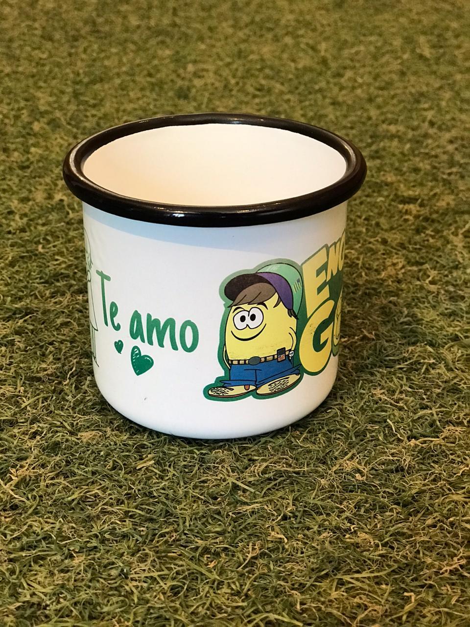Caneca Esmaltada Te Amo - 235ml