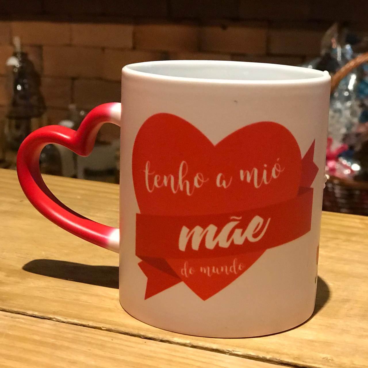 Especial dia das Mães: Caneca Mágica love dia das mães