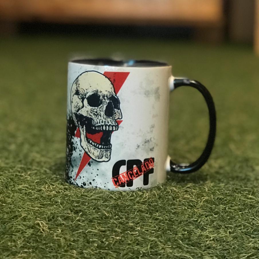 Caneca Porcelana do Raio Imortal - CPF cancelado