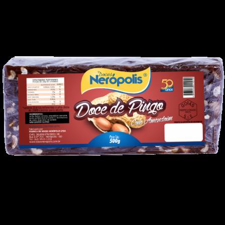 Doce de Pingo de Leite com Amendoim | Barra 500g