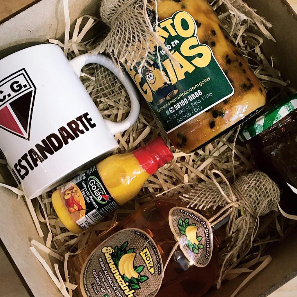 Kit coisas de Goiás Time