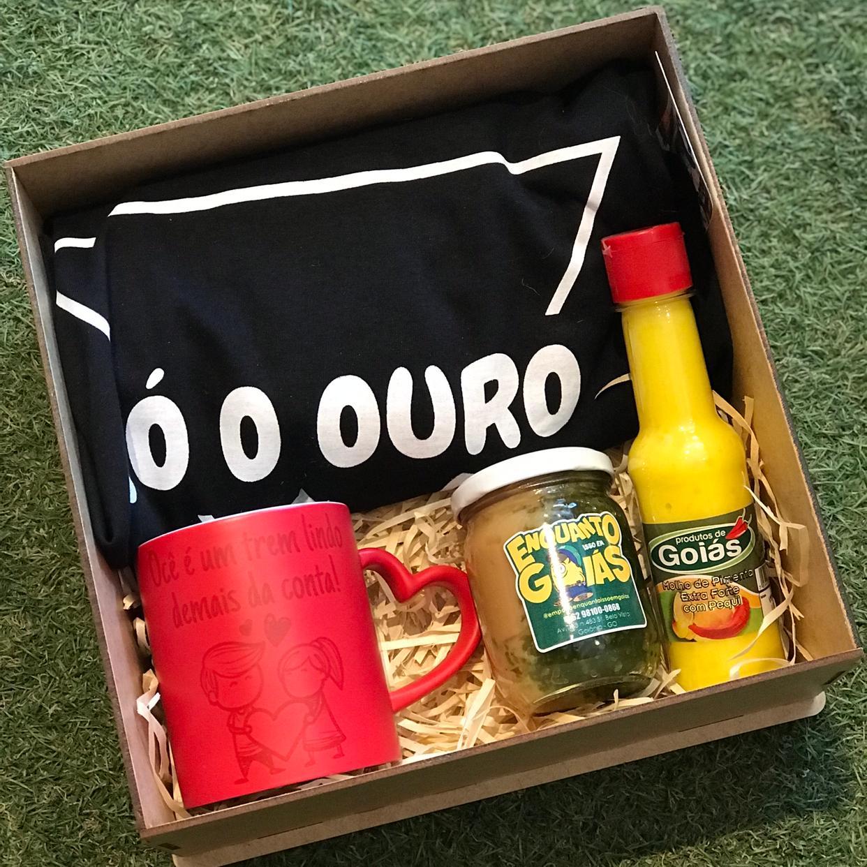 Kit dia dos Namorados Camiseta + caneca mágica