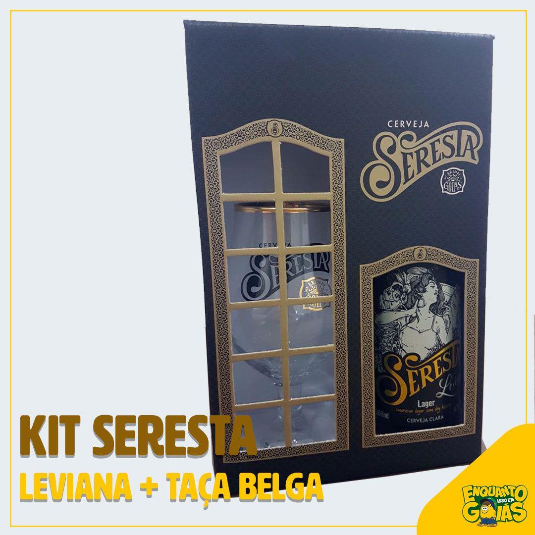 Kit Seresta Leviana + Taça belga