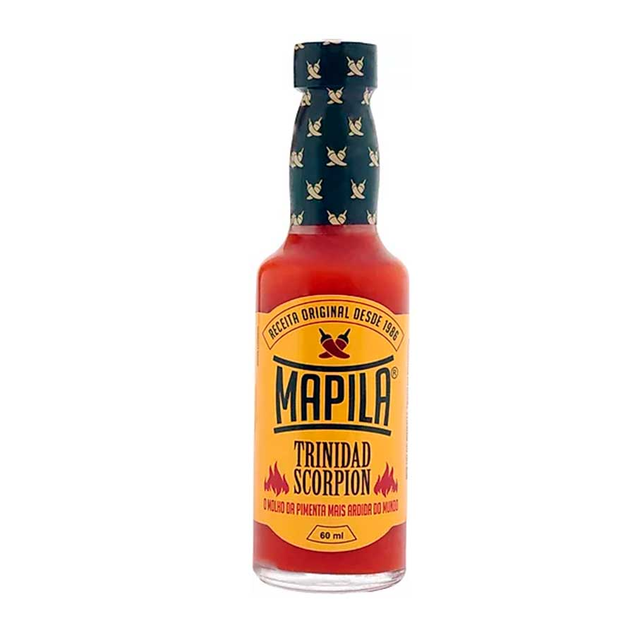 Molho de pimenta trinidad scorpion