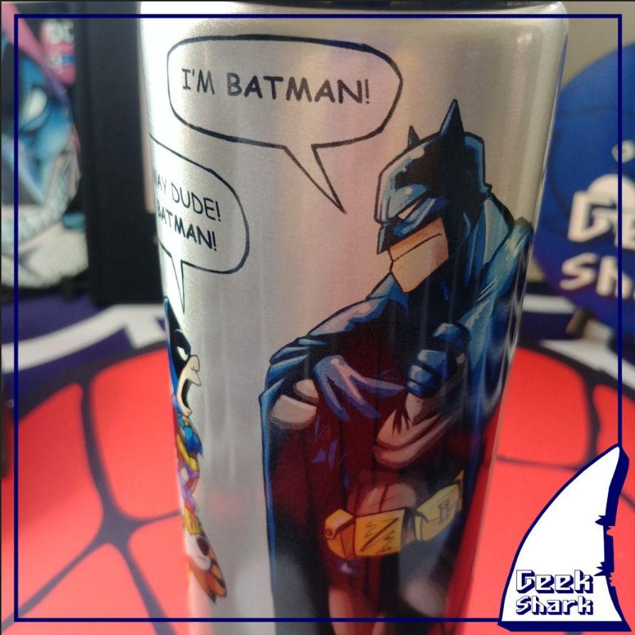 Squeeze Batman com Calvin e Haroldo 750 ml - 01