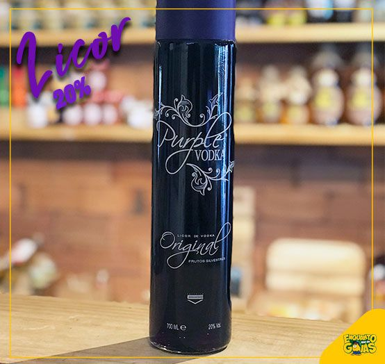 Vodka Licor Purple 700ml