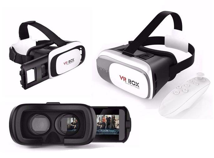 02959e0f9a860 OCULOS VR BOX 2.0 REALIDADE VIRTUAL 3D COM CONTROLE