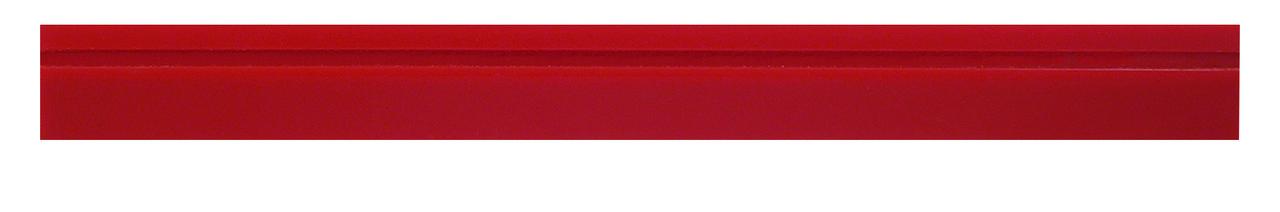 """BRI267 Borracha de Raspagem Vermelha de 18 1/2"""""""