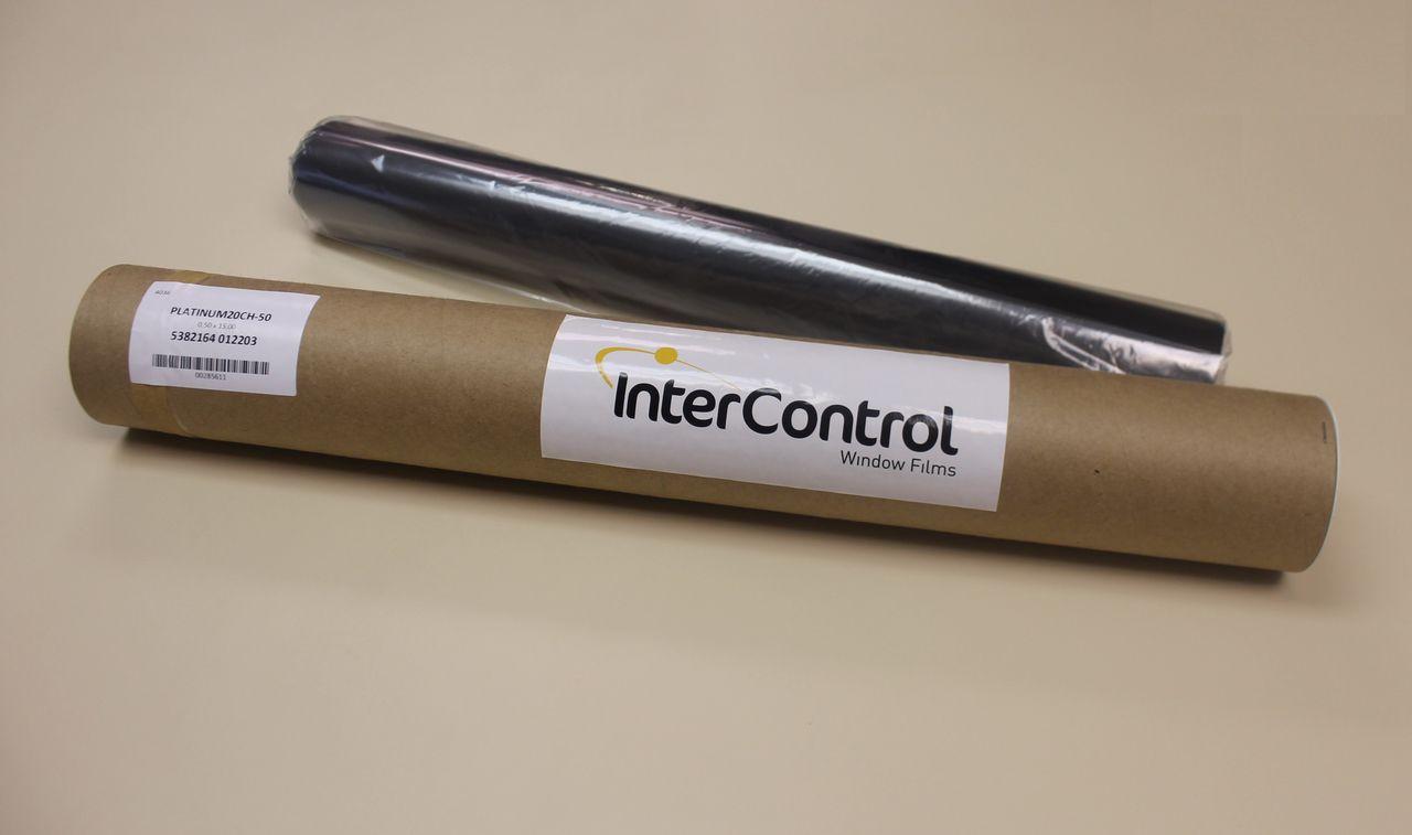 Película InterControl Platinum (0,50x15m) TLV 20  Cor: Charcoal