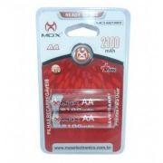 MOX - Pilhas Recarregáveis AA 2100 mAh MO-AA2100C2