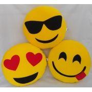 ND - Almofada de Poliester - Emoji - G