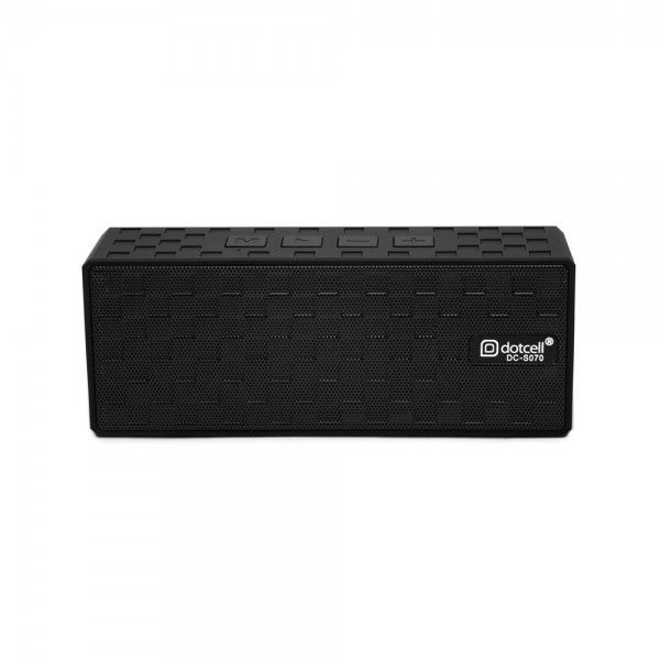 DOTCELL - Mini Caixa Bluetooth Preta DC-S070
