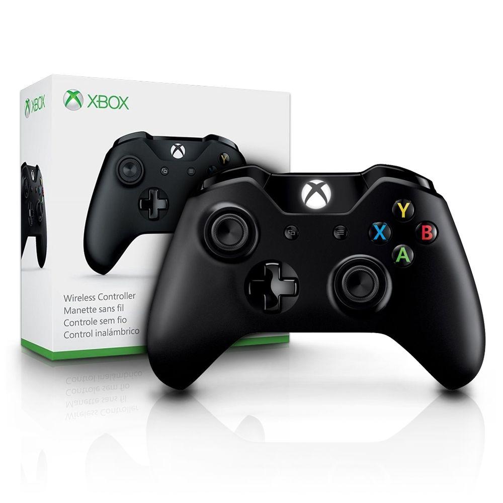 MICROSOFT - Controle Xbox One Preto