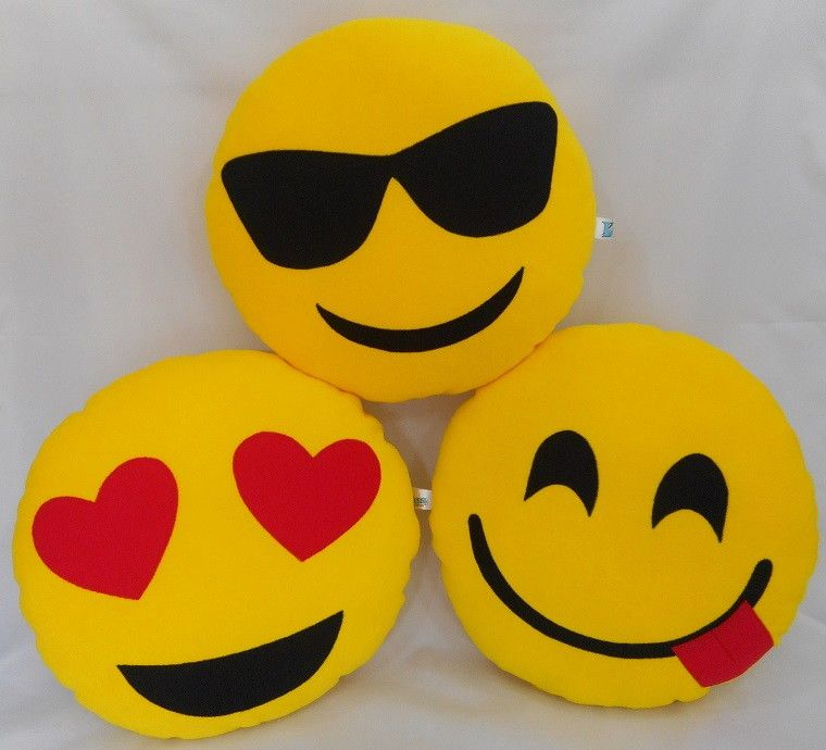 ND - Almofada de Poliester - Emoji - PQ
