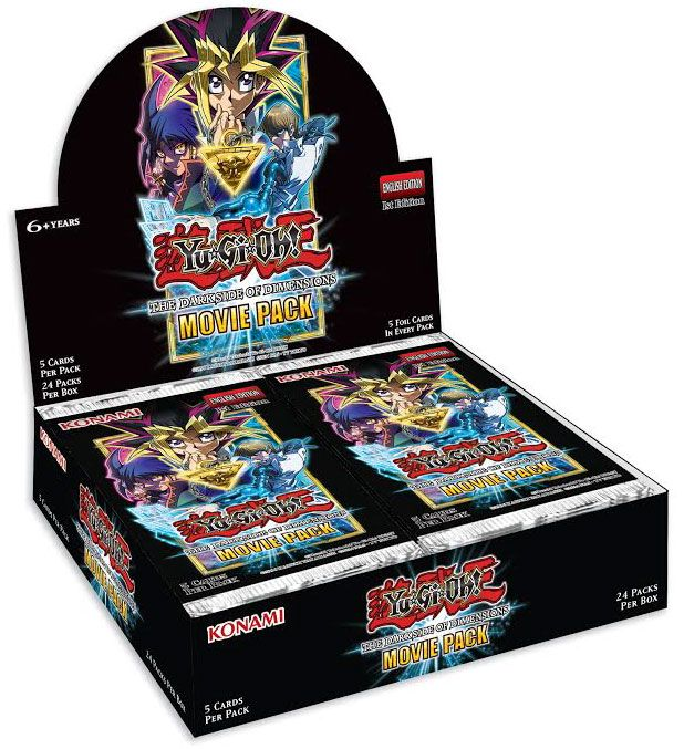 YUGIOH - Booster Movie Pack