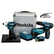 KIT KOMBO C/ HP330D+TD090D+ML100 MAKITA DK1485X-220V