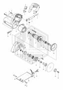 PEÇAS DE REPOSICAO - SERRA MARMORE 110MM (4 3/8 POL) MAKITA MCC400-220V