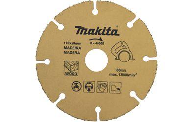 DISCO DE SERRA P/ MADEIRA C/ GRAOS TUNGS MAKITA B-40668
