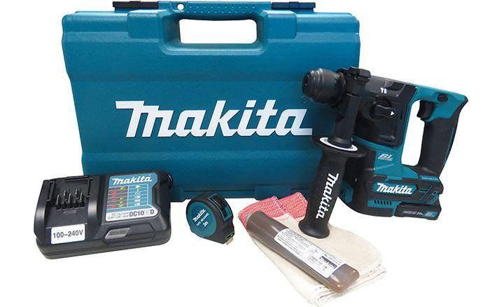 MARTELETE ROTATIVO A BATERIA 12V MAKITA HR166DWAX1  - RTR